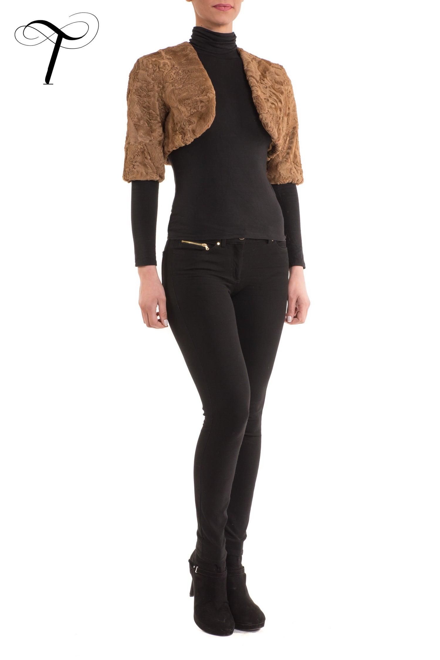 Fur Jacket Fur Bolero