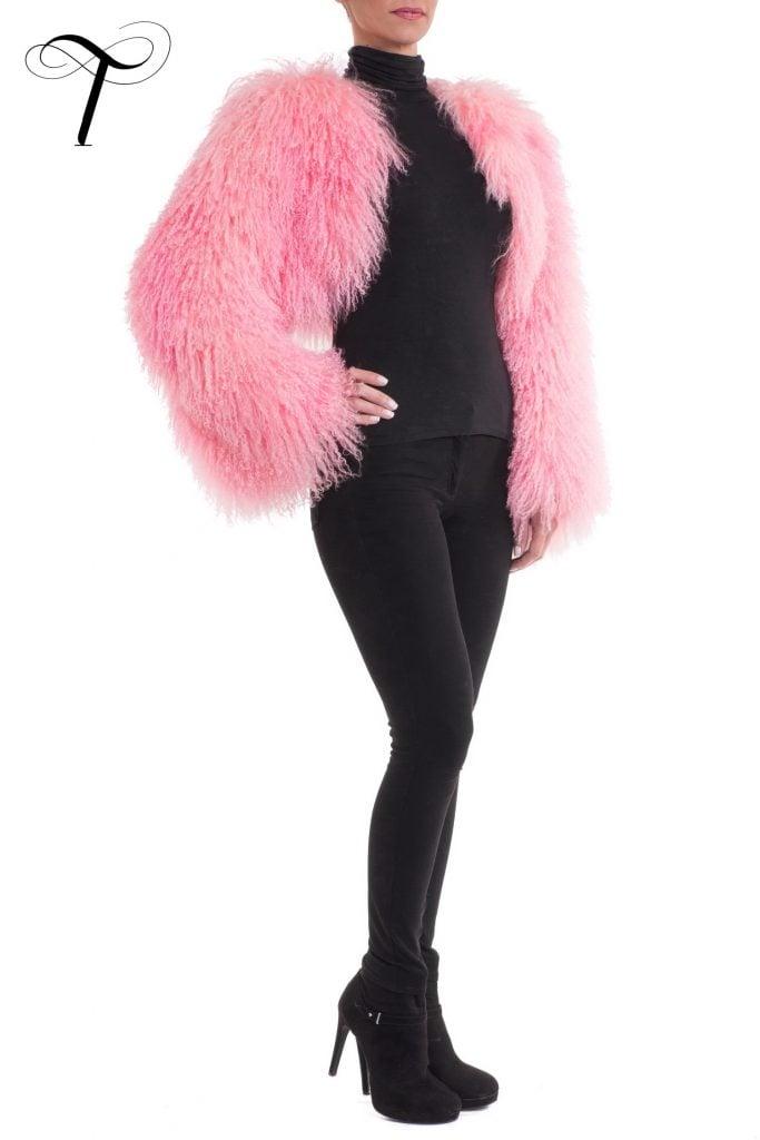 Fur Jacket Pink Fur