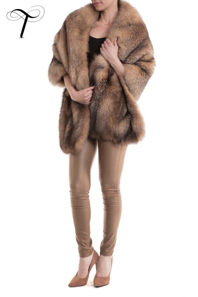Fur Stole Fox Stole
