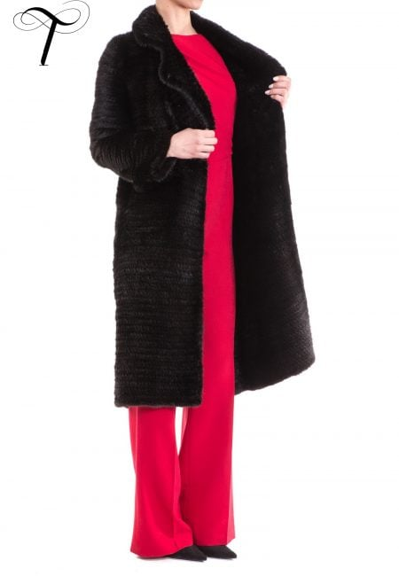Fur Coat Knitted Coat